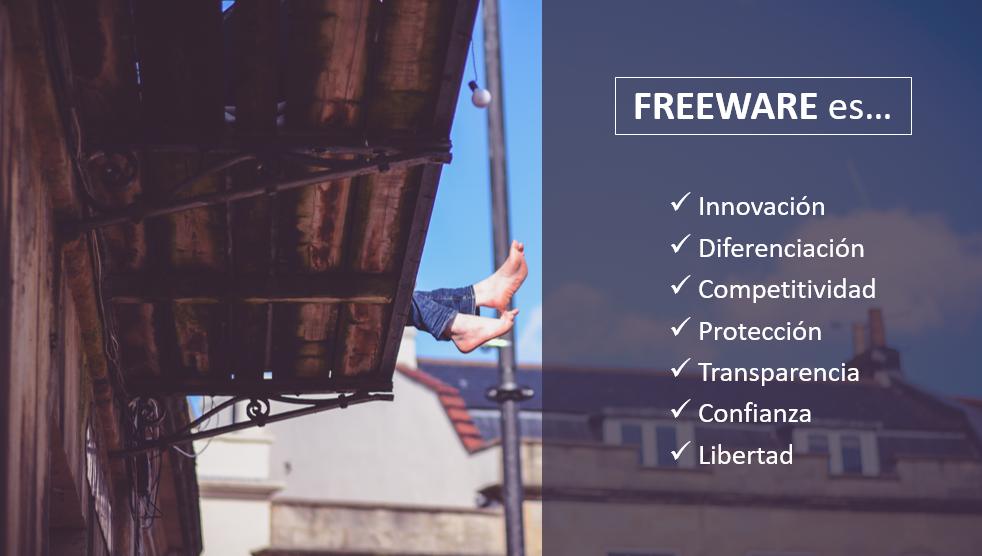 Ventajas del modelo freeware