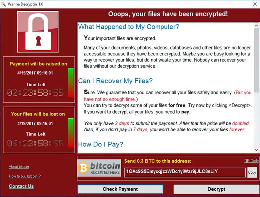 ransomware, protege la información de tu empresa.
